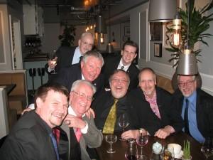 Lee, John, Kev, Bob, Danny, Brian, David, Kevin Doig