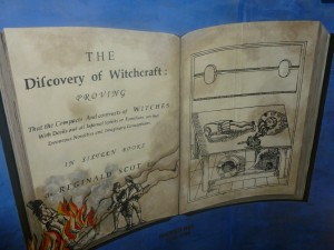 3. Discovery of witchcraft on stairwell
